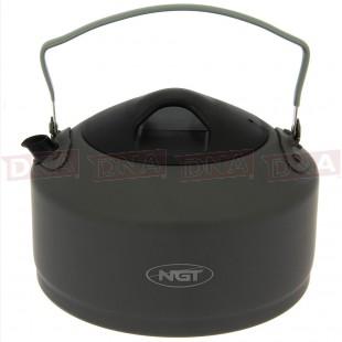 NGT 1.1 Litre Gun Metal Aluminium Kettle