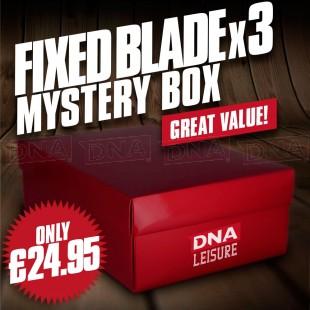 Mystery Fixed Blade Knife Set