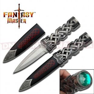 Fantasy Master FM-645 Fantasy Fixed Blade Dagger Knife
