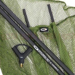 """NGT Carbon 42"""" Net and Handle Combo"""