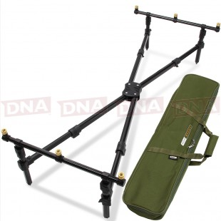 NGT Cross 3 Rod Pod with Case