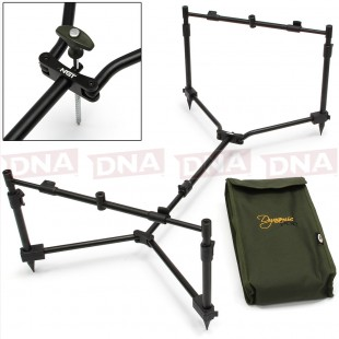 NGT Dynamic 3 Rod Pod with Case