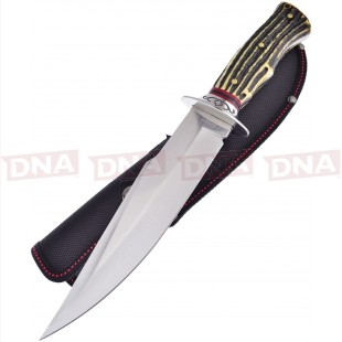 Frost Cutlery FSHP005 Imitation Stag Bowie Knife