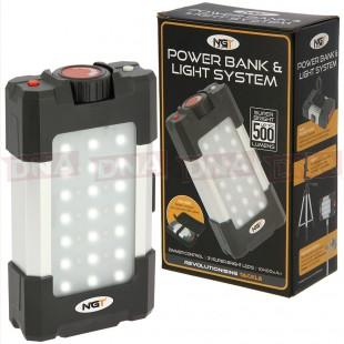NGT 500 Lumen LED Light and Powerbank