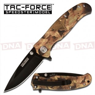 Full Camo Tactical Lock Knife