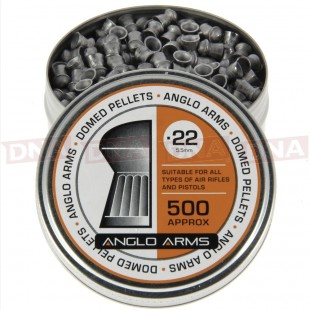 2x Tins Of Anglo Arms .22 Domed Pellets