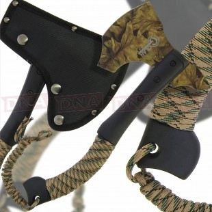 Golan Camo Cord Wrapped Axe