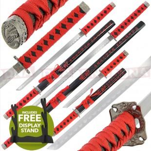Golan 3 Piece Straight Sword Set