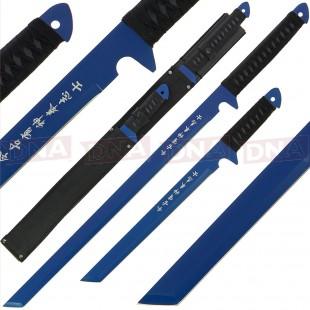 Golan Twin Blue Ninja Sword Set