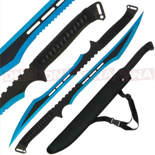 Golan Blue Ninja Twin Sword Set