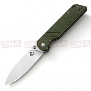 QSP G10 Lock Knife - Green Main