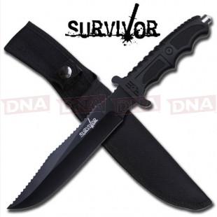 Survivor HK-718 Green Survival Fixed Blade Knife