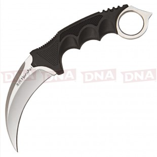 Honsku Satin Karambit with Shoulder Sheath