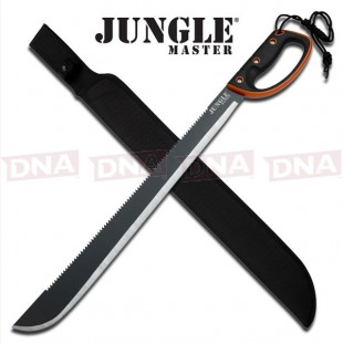 "Jungle Master D Guard 28"" Machete"