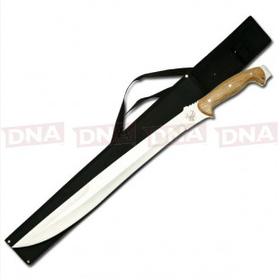 "Jungle Master 25"" Mirror Finished Machete"