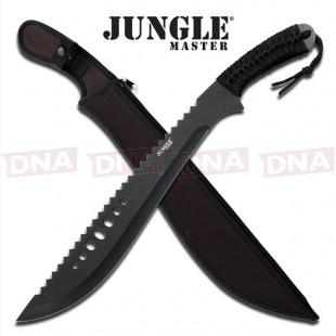 Jungle Master Serrated Machete