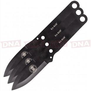 Ka-Bar KA1121 Throwing Knife Set OPen