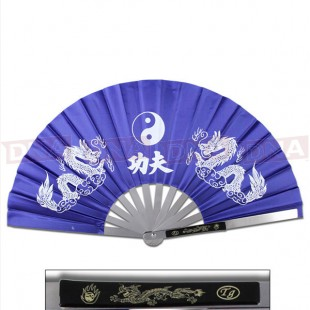 Metal-Kung-Fu-Fan-Blue