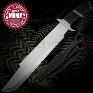 Predator Knife and Expendables Throwing Knives Set