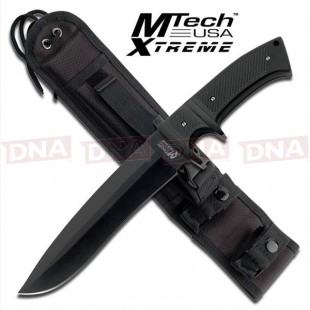 MTech Xtreme Sub-Hilt Military Fixed Blade Knife - Black