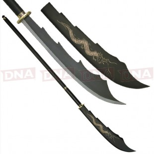 Oriental Dragon Naginata