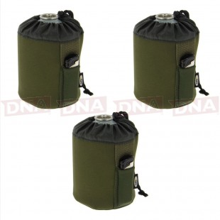 3x 450g Neoprene Gas Canister Covers
