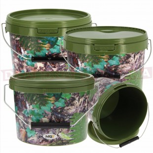 2x 5L & 1x 10L Air Tight Bucket Combo