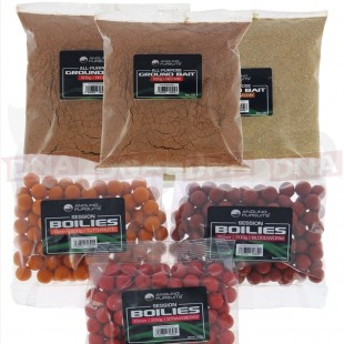 3x 500g Ground Bait & 3x 200g Boilies