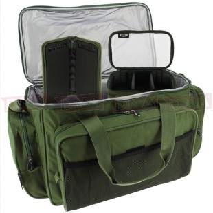 Green Insulated Carryall with rig Wallet and Lead Bag