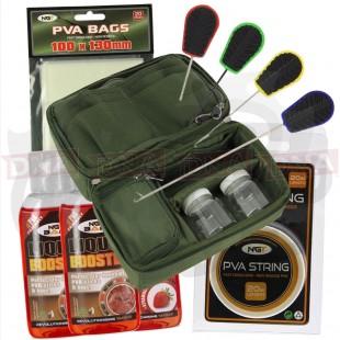 Glug Pot Fishing Set with PVA Tools and Liquid