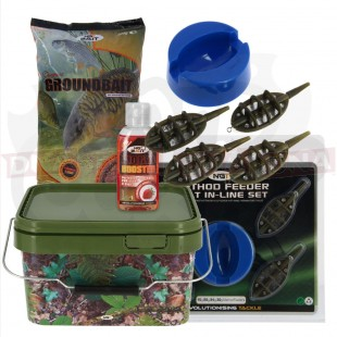 Bait Set with Bucket and Feeders