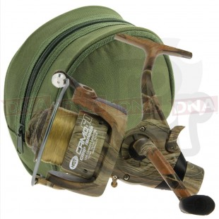 NGT Camo 60 3BB fishing Reel with Case