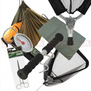 Carp Landing Set with Net, Mat, Sling, Scales and More!
