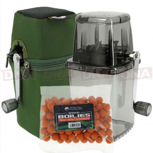 Large Bait Grinder System with Case and 200g Boilies