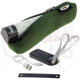 Large Bivvy Light / Powerbank  with Green Neoprene Case