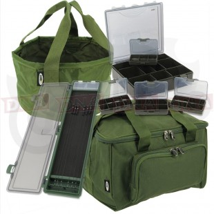 Quickfish Carryall with Bowl Tackle Box and Rig Board