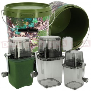 Bait Grinder System with 10L Bucket