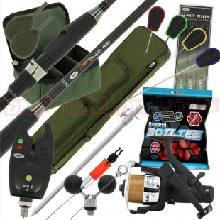 Travel Set with Rod reel Alarm Luggage and More!