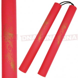 Padded-Red-Nunchaku
