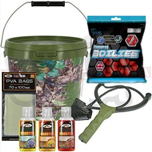 Baiting Set with Sling Shot Glug and PVA +
