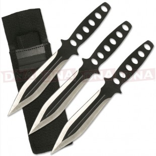 Perfect Point RC-136-3 Gladius Shaped Throwing Knives Set