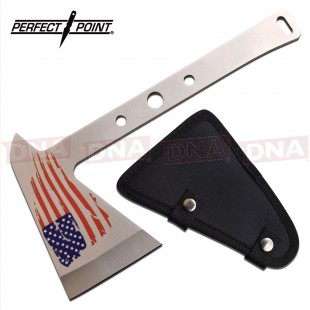 Perfect Point Throwing Axe US Flag