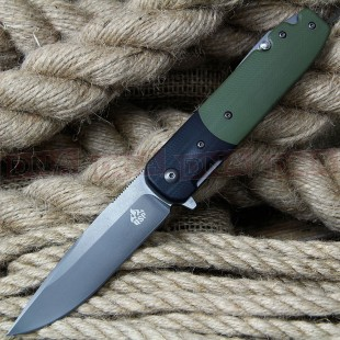 QSP Daeva Ball Bearing Lock Knife - Plain Edge