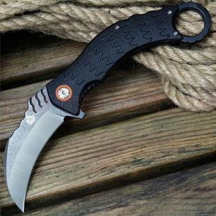 QSP Eagle Tactical Karambit Bearing Assist Knife