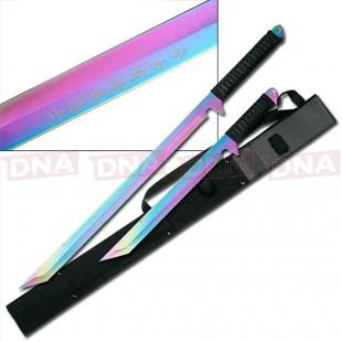 Rainbow Twin Ninja Sword Set