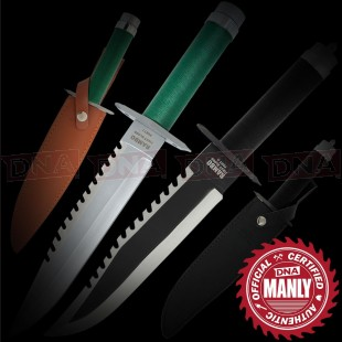 Rambo 1 and 2 Movie Knife Bundle