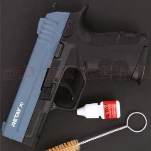 Retay X1 9mm P.A.K Black/Blue Blank Firing Pistol