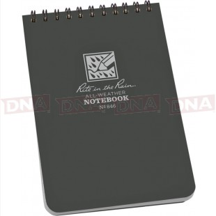 Rite in the Rain RITR846 Top-Spiral Notebook 4x6 front