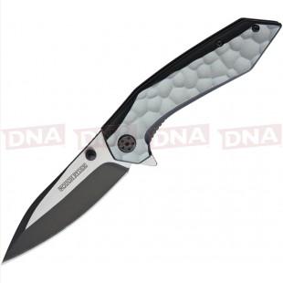 Rough Ryder RR1983 Dual Tone Linerlock Knife Open