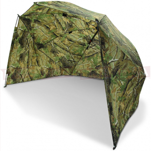 "50"" Camo Storm Brolly with Sides"
